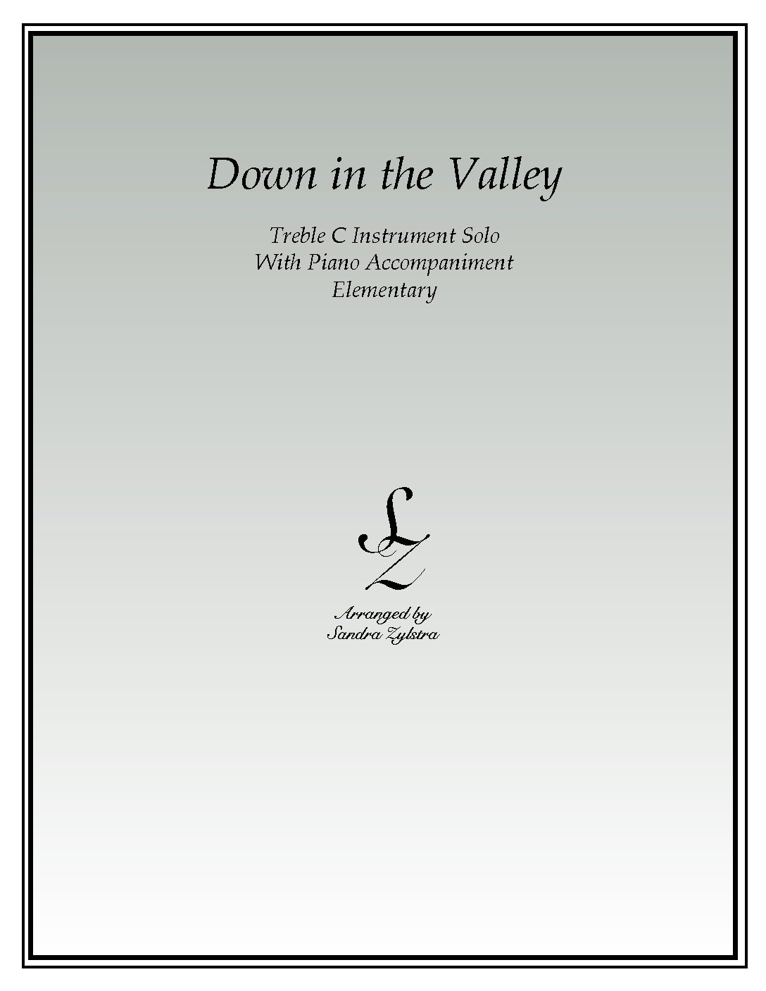 IS 24 Down in the Valley 04 Treble C pdf