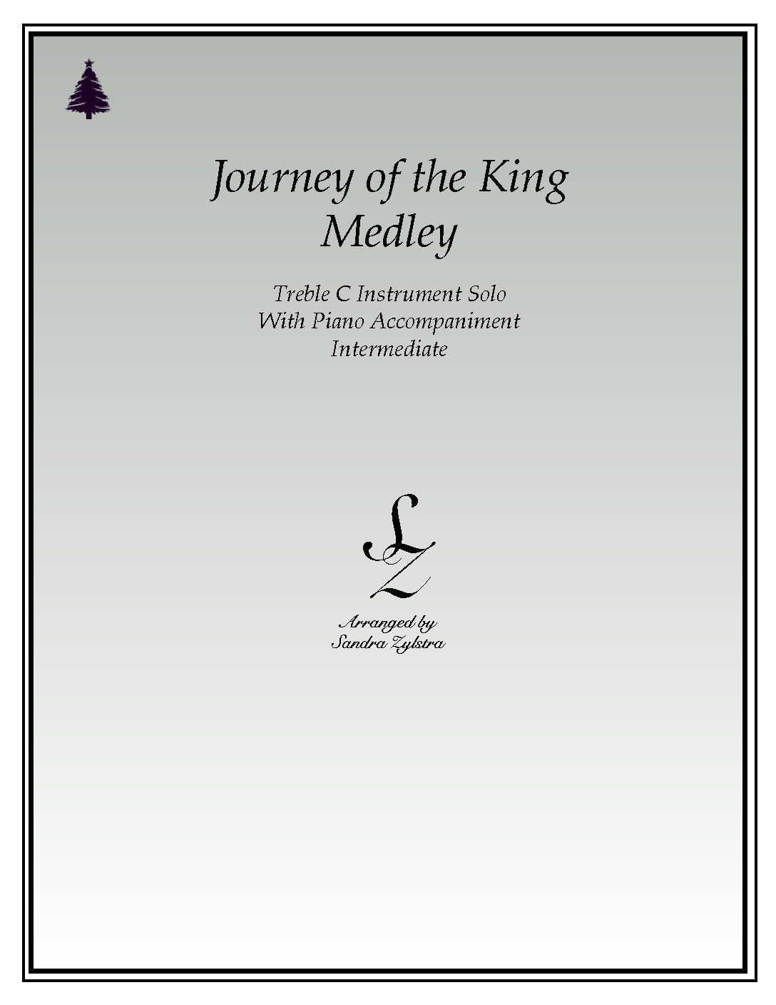 IS 40 Journey of the King Medley 04 Treble C pdf