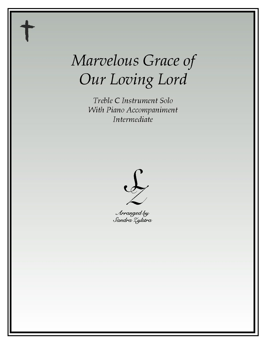 IS 43 Marvelous Grace of Our Loving Lord 04 Treble C pdf