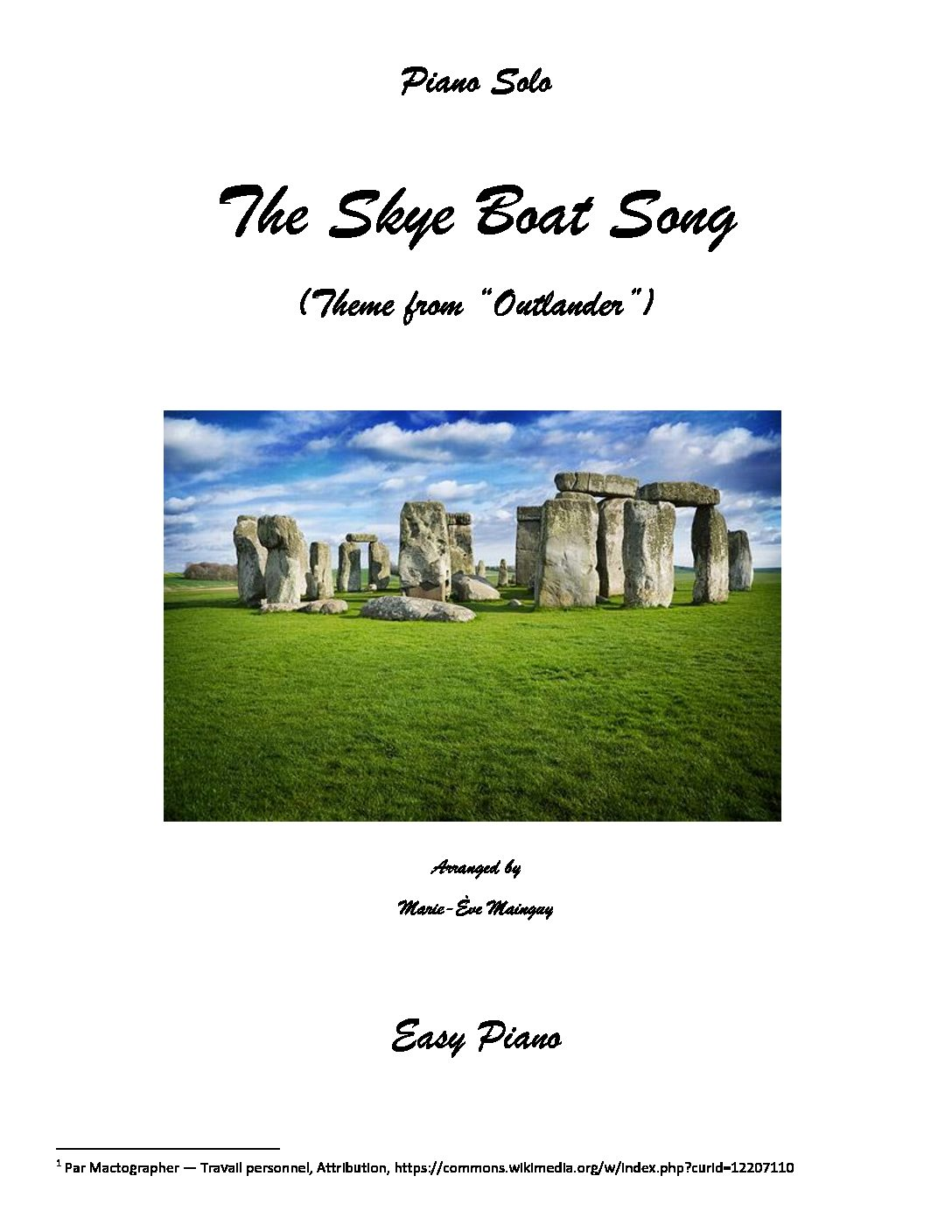 """The Skye Boat Song (Theme from """"Outlander"""")"""