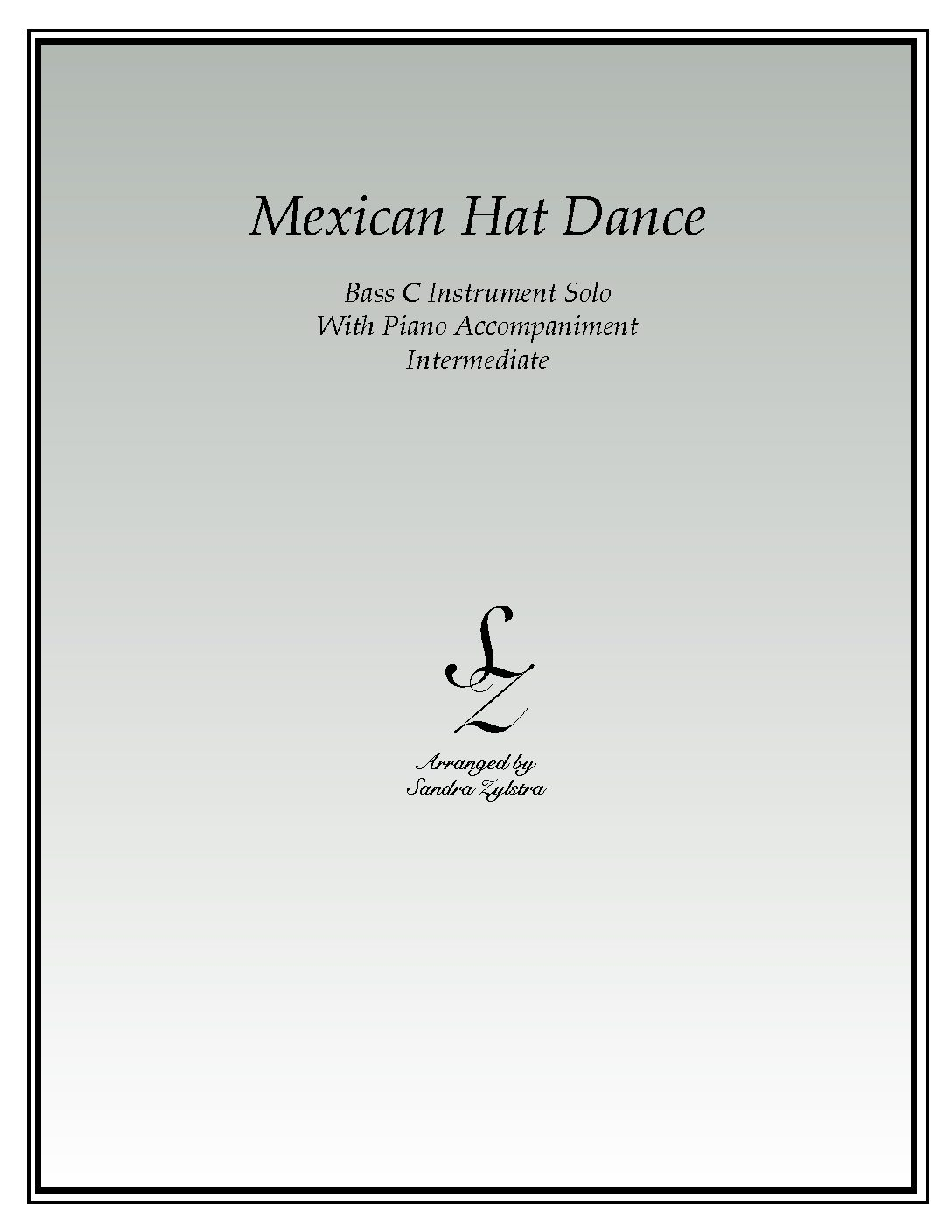Mexican Hat Dance -Bass C Instrument Solo